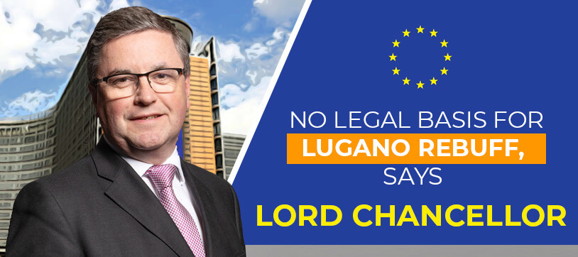 No legal basis for Lugano rebuff