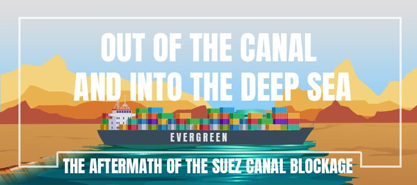 Out of the Canal and into the Deep Sea: The Aftermath of the Suez Canal Blockage