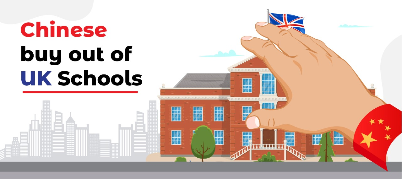 Chinese buy out of UK Schools