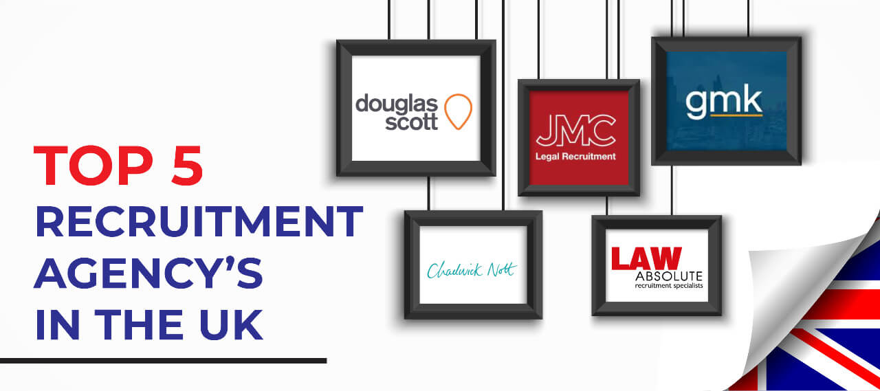 Top 5 Legal Recruitment Agencies in UK
